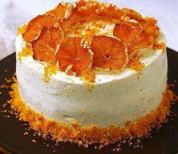 Gluténmentes narancstorta