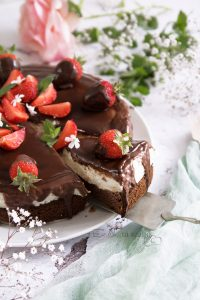 Túró rudi torta tej- és gluténmentesen
