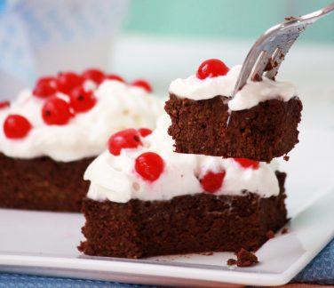 Paleo cukkinis brownie